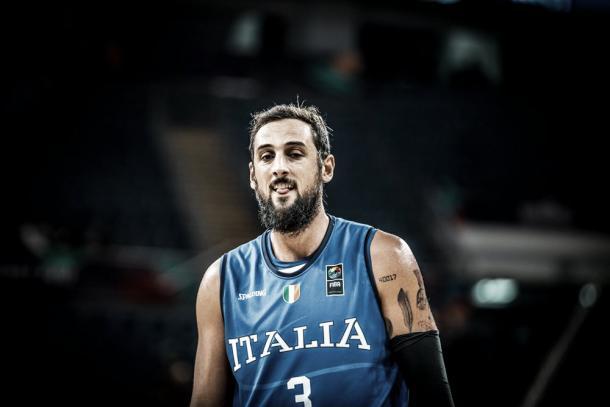 Belinelli, Italia. Fonte foto: http://www.fiba.basketball/eurobasket/2017.