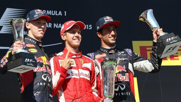 Podio 2015 Foto: F1