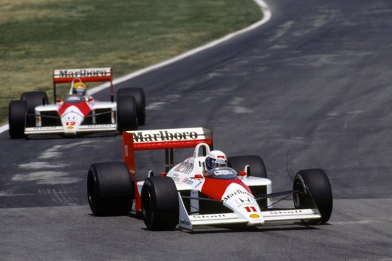 The most famous McLaren to have the MP4 designation was the 1988 MP4-4 that won 15 out of 16 races. (Image Credit: Pintrest)
