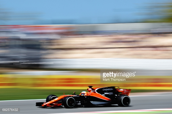 Fernando Alonso man-handled the McLaren into Q3. (Mark Thompson/Getty Images)