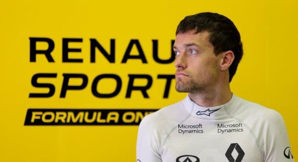 Jolyon Palmer has yet to break his points duck, but came close in Hungary. (Image Credit: Motorsport.com)