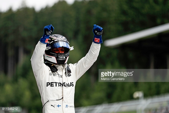 Bottas has proven his worth to Mercedes, and his seat for 2018 is surely now secure. (Image Credit: Marco