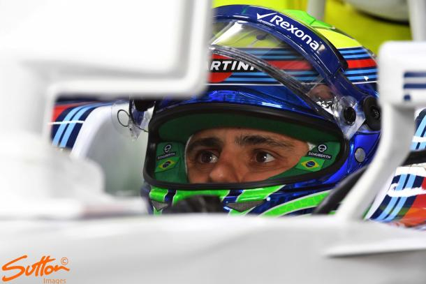 Hopes were high that Felipe Massa could get into the Top 10, but he could only manage 13th on the grid. (Sutton Images)