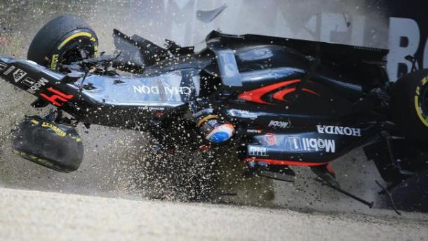 Fernando Alonso's horror crash was an indication of how far safety has come in Formula 1. (Image Credit: Alex Coppel)