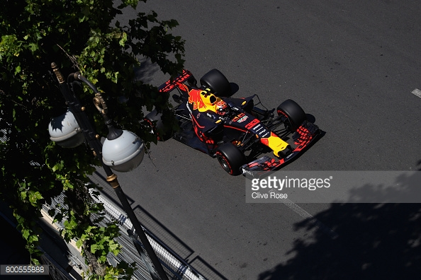 Verstappen lost gear sync on his final lap, and lost time to Sebastian Vettel, who qualified fourth. (Image Credit: Clive Rose/Getty Images)
