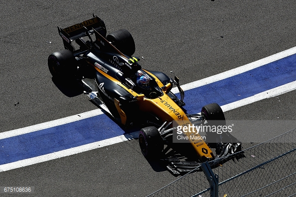 Jolyon Palmer needs to step up, and quickly, or risk being replaced by another driver. (Image Credit: Clive Mason/Getty Images)