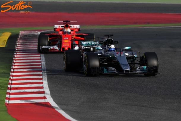 Ferrari have impressed so far, and are Mercedes beginning to feel the heat? (Image Credit: Sutton Images)