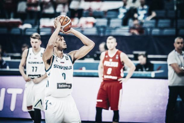 Randolph, Slovenia. Fonte foto: http://www.fiba.basketball/eurobasket/2017.