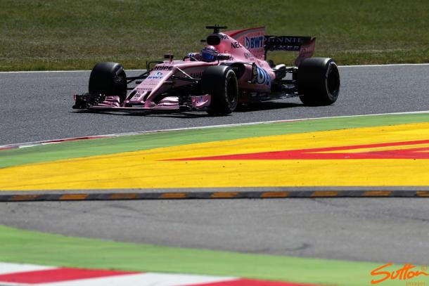 Force India have out-performed their own expectations thus far, hauling 53 points in five races. (Image Credit: Sutton Images)