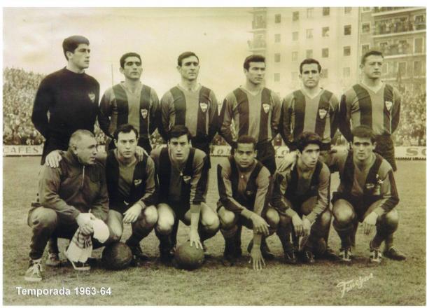 Serafín, Domínguez, Calpe y Wanderley eran algunas de las figuras del equipo que participó por primera vez en Primera División en el 1963 / Fuente: Levante Web Oficial