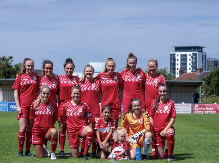 Middlesbrough Women FC in the 2020/2021 season | Photo: Molly Holder