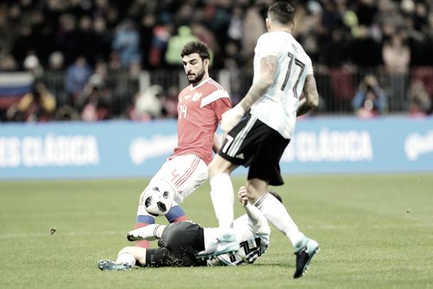 Rusia - Argentina | Fuente: FUR