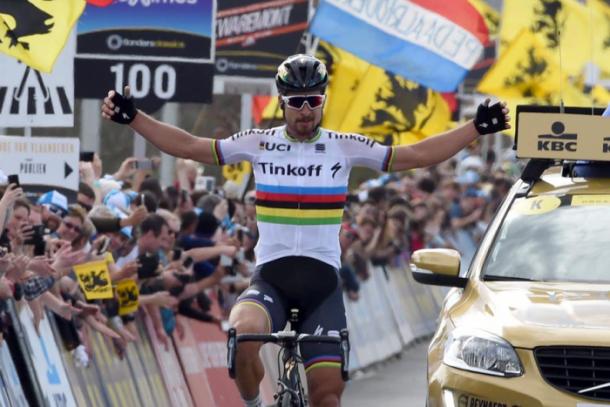 El Tour de Flandes fue el primer 'monumento' para Peter Sagan | Fotografía: Tour de Flandes.