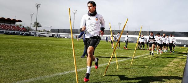 Parejo preparando el choque ante el Sevilla | Foto: Valencia CF