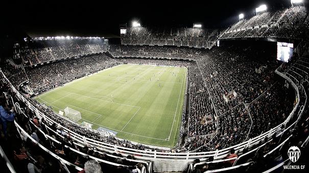Estadio de Mestalla. Foto: Valencia CF