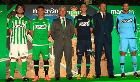 Equipaciones Macron del Real Betis para la 12/13 // Foto: http://lanoticiabetica.bligoo.com