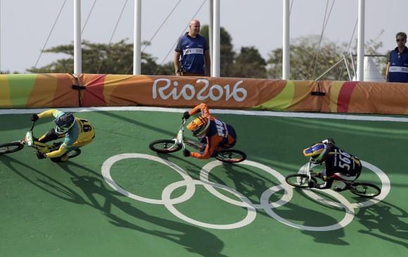 Competencia de BMX en Río / Foto: elcolombiano.com