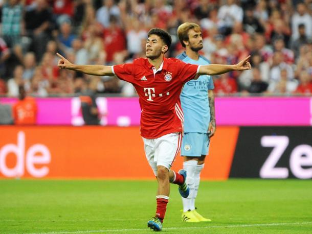 Erdal Öztürk celebrates his goal. | Photo: Kicker