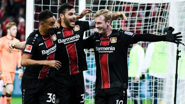 (Mainz 1-5 B. Leverkusen   Foto: Imago/Bundesliga)