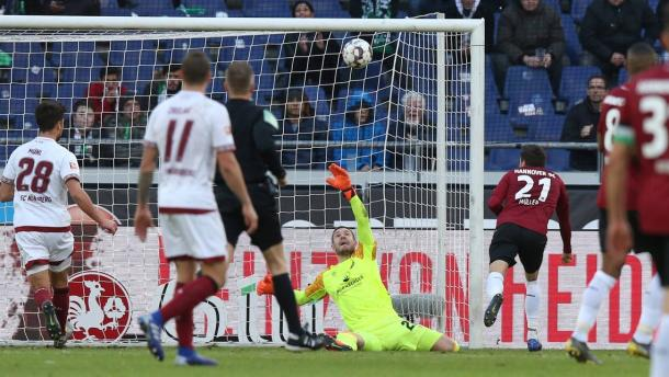 (Hannover 2-0 Núremberg   Foto: Imago/Bundesliga)