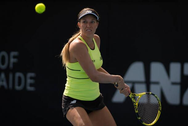 Collins crushed her second top ten opponent in as many weeks/Photo: Imago Images/Zuma Press
