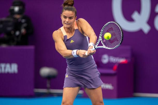 Sakkari won on her tournament debut/Photo: Imago Images