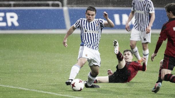 Real Sociedad B - Mirandés (fuente Real Sociedad B)