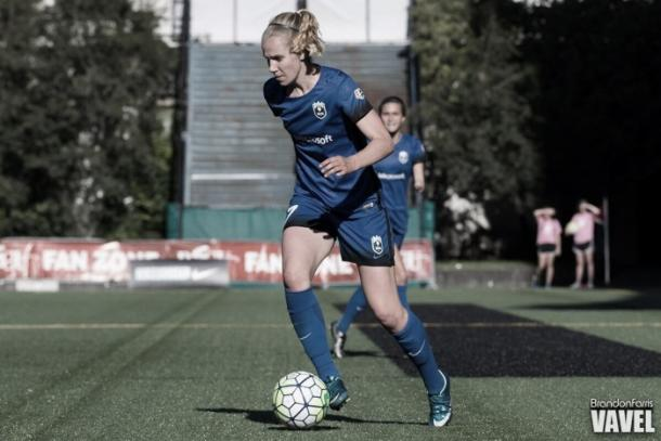 Beverly Yanez will be the expected starting striker for the Reign | Source: Brandon Farris/VAVEL