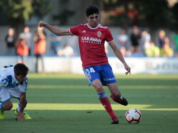 Segunda equipación. Foto: Real Zaragoza