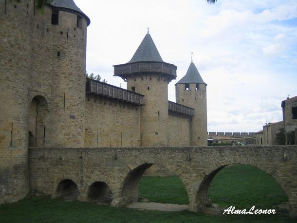 Entrada al Castillo Condal (Imagen: AlmaLeonor, de VAVEL)