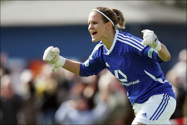 Schumann has already celebrated plenty of success with FFC, and is hoping to do so further. (Photo: Women's Soccer ID)
