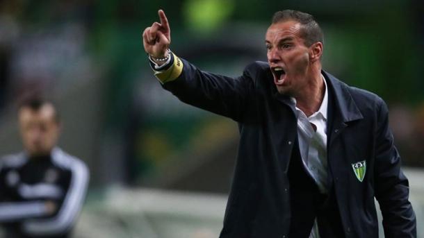 Petit diz que o Tondela irá disputar os 3 pontos | Foto: Record