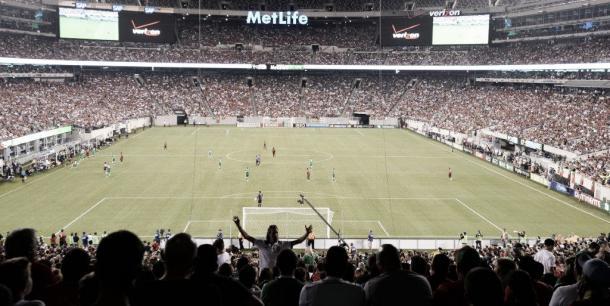 MetLife Stadium, donde se jugará el encuentro   Foto: Web Oficial MetLife Stadium