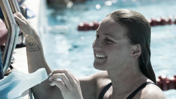 Melani Costa durante uno de sus entrenamientos. / Foto: Manel Montilla