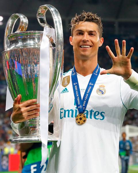 Cristiano Ronaldo en su último partido con el Real Madrid | Fuente: realmadrid.com