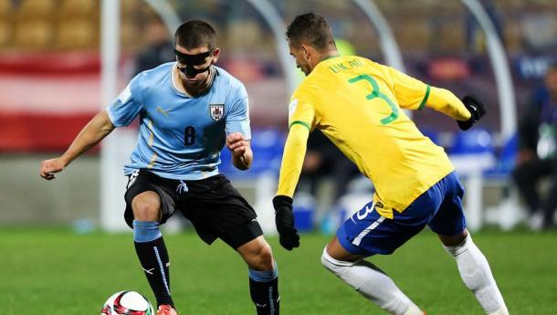 Mauro Arambarri con Uruguay | Fuente: Getty