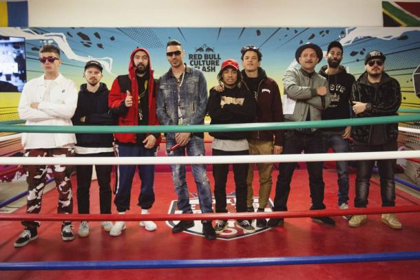 Parte dei partecipanti al prossimo Culture Clash. Fonte: http://www.spettacolinews.it