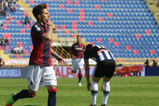 L'esultanza di Verdi, in goal contro l'Udinese | Foto: ANSA