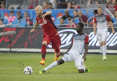 Michael Bradley controlled the midfield against D.C. United | Source: Nick Turchiaro-USA TODAY Sports