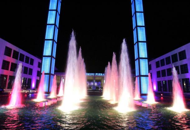 L'ingresso del polo fieristico di Rimini. Fonte immagine: hotelsullaspiaggiarimini.it