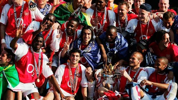 Celebración sobre el césped de los jugadores del Arsenal   FOTO: FIFA.com