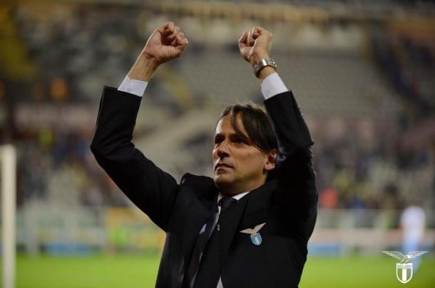 Técnico Simone Inzaghi busca dar sequência ao bom trabalho da última temporada. Foto: Divulgação/Roma