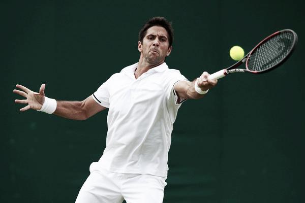 Verdasco disputando Wimbledon. Foto: Zimbio