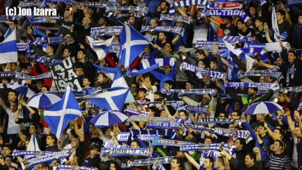 La afición albiazul, una de las claves del éxito | Foto: Jon Izarra (Deportivo Alavés)