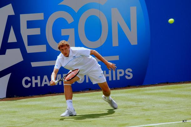 Istomin admitted afterwards that he was struggling physically after a slew of matches recently