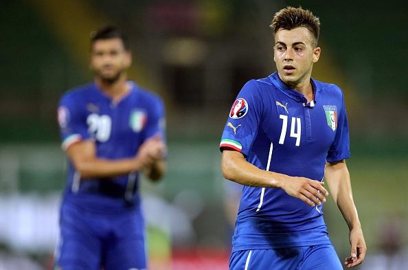 El Shaarawy en un partido con Italia. Fotografía: Marcello Paternostro (AFP) / Getty Images