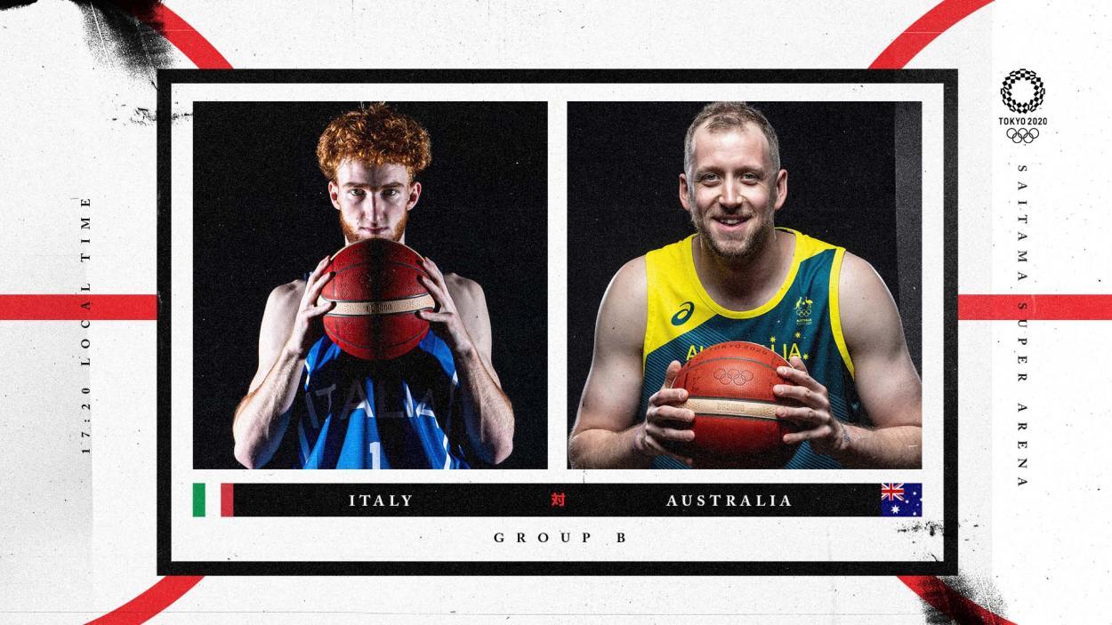 Italy vs Australia / Photo : FIBA