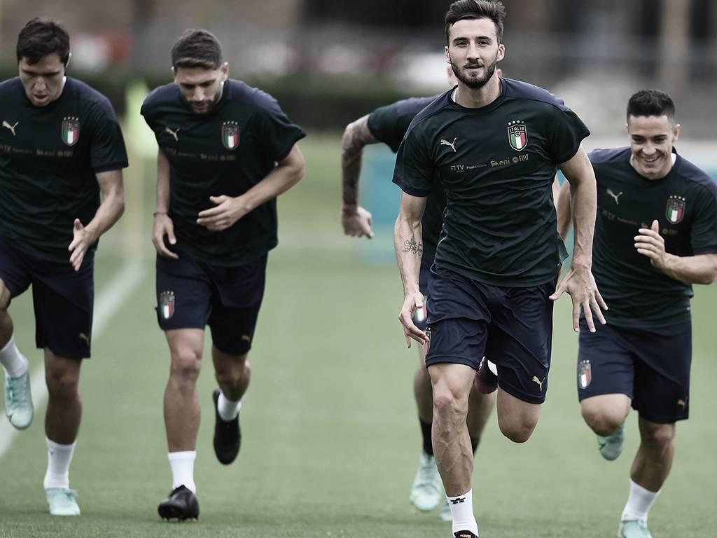 La alegría y confianza reinan en la 'Nazionale'   Foto: Italia