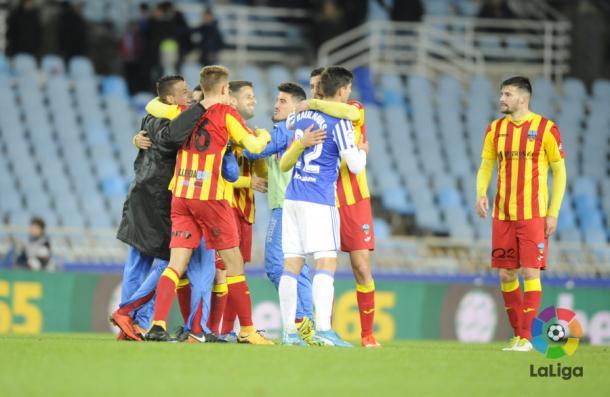 Lleida fez história | Foto: Divulgação/La Liga