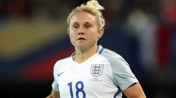 Isobel Christiansen will look to bring her club form onto the international stage | Source: thefa.com